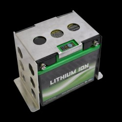 Support de batterie ALU pour LITHIUM 30