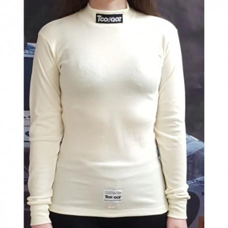 T Shirt ignifugé FIA blanc