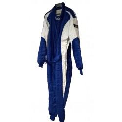 Combinaison FIA Good Race Bleu/Gris