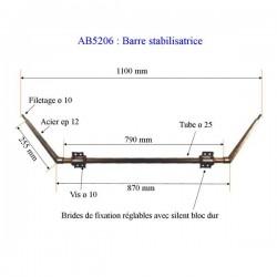 Barre stabilisatrice standard