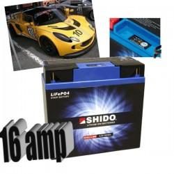 Batterie Lithium 16 Amp LiFePO4