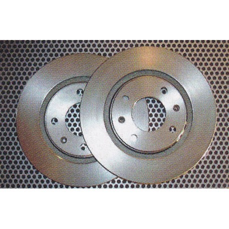 Disque de frein type Groupe N 348 x 30 - 5+1 trous