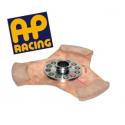 Disque embrayage 3 patins ø184 mm métal fritté AP RACING