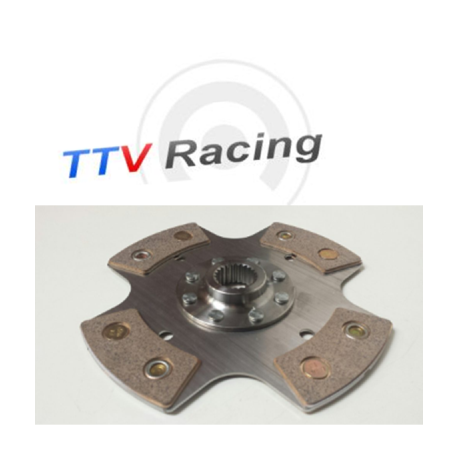 Disque embrayage 4 patins ø184 mm métal fritté TTV RACING