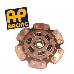 Disque embrayage 6 patins amorti ø200 mm métal fritté AP RACING