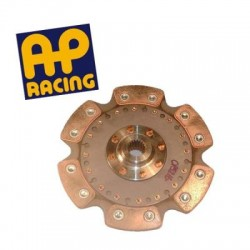 Disque embrayage 6 patins rigide ø200 mm métal fritté AP RACING
