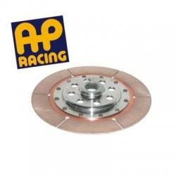 Disque embrayage ø184 moyeu court décalé métal fritté AP RACING