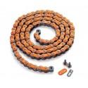 Chaîne AFAM MX4 – Orange 520 top qualité