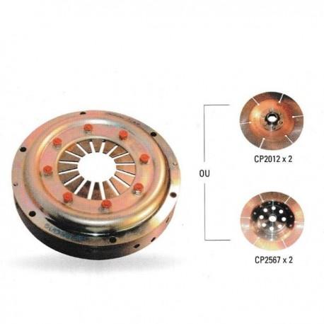 Mécanisme CP2125 ø184mm 532Nm alu AP RACING