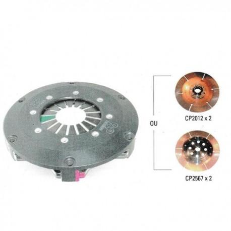 Mécanisme CP7372 ø184mm 532Nm alu AP RACING