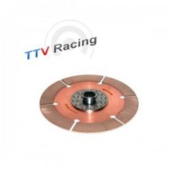 Disque embrayage 6 patins rigide ø184 mm métal fritté TTV RACING