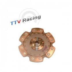 Disque embrayage 6 patins rigide ø200 mm métal fritté TTV RACING