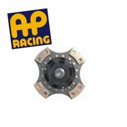 Disque embrayage 4 patins amorti ø215 mm métal fritté AP RACING