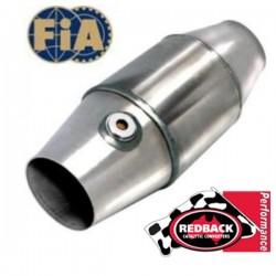 Catalyseur compétition REDBACK FIA ø101-63 TURBO Haute température