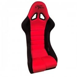 Siège bacquet GT FIA Good Race 3D rouge/noir