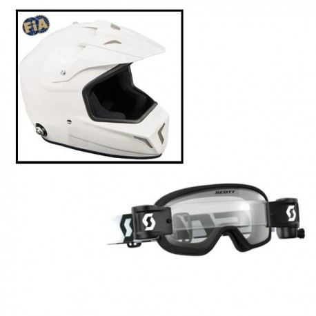 Pack Casque Cross + lunette BUZZ