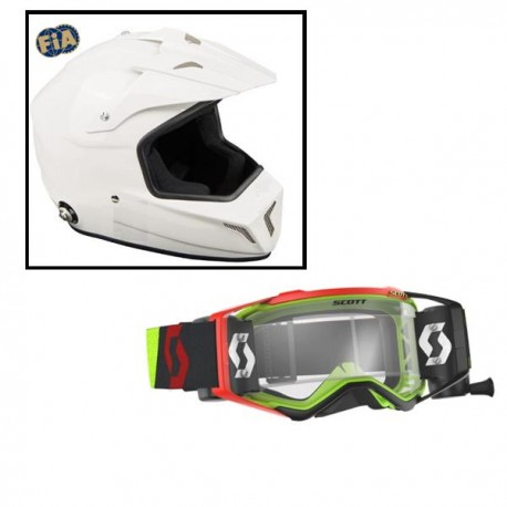 Pack Casque Cross + lunette Prospect