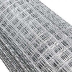 Grillage galvanisé maille 25x25 - Fil 0.9mm