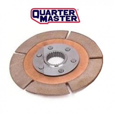 Disque embrayage ø184 moyeu long métal fritté QUARTER MASTER