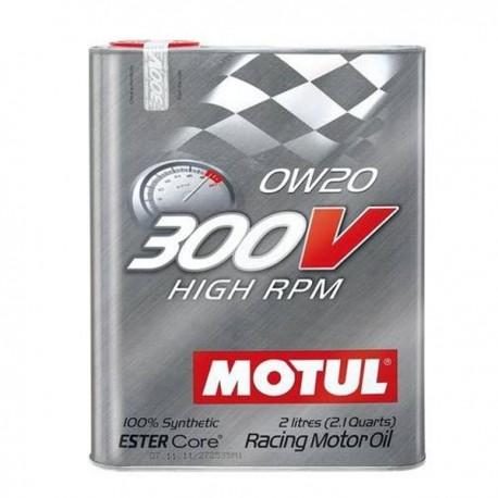 300V Motorsport 4T 0W20 HIGH RPM Huile moteur