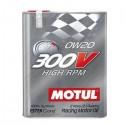 300V Motorsport 4T 0W20 HIGH RPM Huile moteur MOTUL