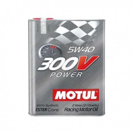 300V Motorsport 4T 5W40 POWER Huile moteur