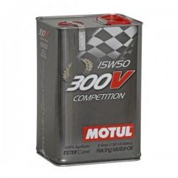 300V Motorsport 4T 15W50 5 L COMPETITION Huile moteur MOTUL