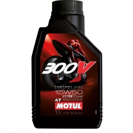 Moto 300V 4T 15W50 Huile moteur MOTUL