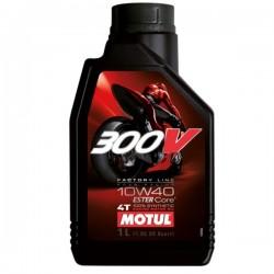 Moto 300V 4T 10W40 1 L Huile moteur MOTUL