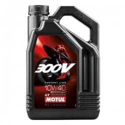 Moto 300V 4T 10W40 4 L Huile moteur MOTUL