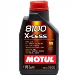 8100 X-Cess 5W40 2 L Huile moteur MOTUL