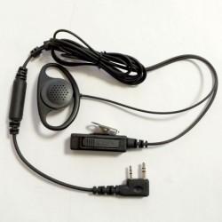 Micro écouteur type oreillette