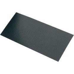 Plaque Carbone / fibre 1490 x 600 mm