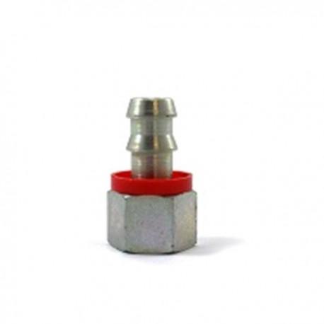 Raccord DROIT 1/2 BSP pour tuyau 1/2 (12,75mm)
