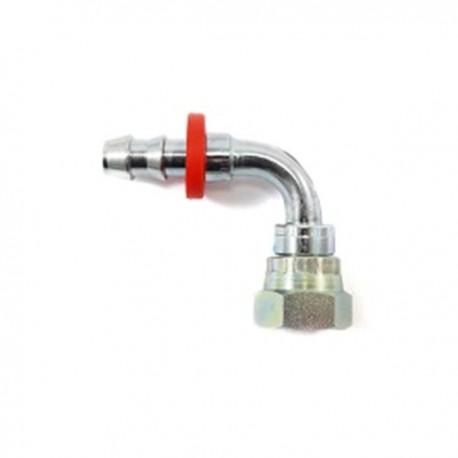 Raccord 90° 1/2 BSP pour tuyau 1/2 (12.75mm)
