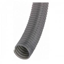 Tuyau souple PVC flexible gris