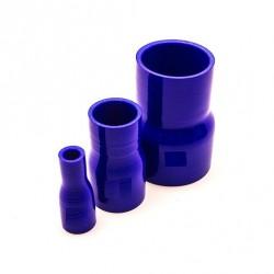Durite réducteur droit silicone bleu
