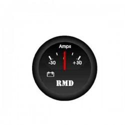 Amperemetre -30to +30amps ø50