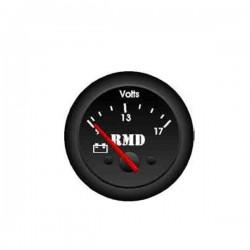 Voltemetre 9-12 volts ø50