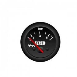 Jauge pression d'huile 0-8 bar ø50