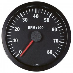 Compte-tours 0-8000 tr/min VDO Cockpit Vision ø100