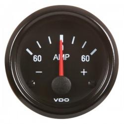 Ampèremètre -60/+60 VDO Cockpit Vision ø52