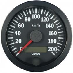 Compteur de vitesse 0-200km/h VDO Cockpit Vision ø100