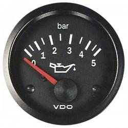 Mano de pression d'huile 0-5 bar VDO Cockpit Vision ø52