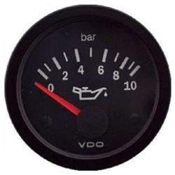 Mano de pression d'huile 0-10 bar VDO Cockpit Vision ø52