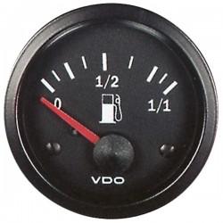 Jauge à essence VDO Cockpit Vision pour capteur à levier ø52