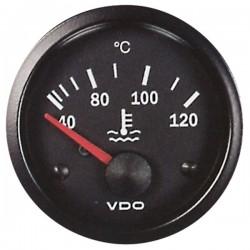 Mano de température d'eau 40-120°C VDO cockpit vision ø52