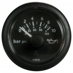 Mano de pression 0-10 d'huile VDO Viewline ø52