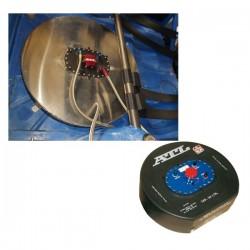 Caisson alu pour réservoir roue de secours 30 ou 45L