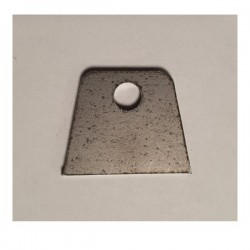 Support à souder plat 25x20 ép 2mm